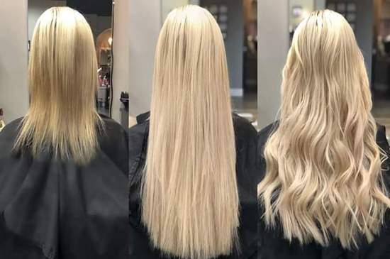 Τρέσες-extensions Μαλλιών