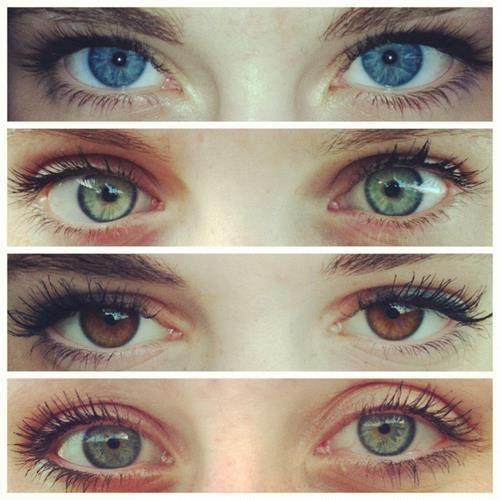 χρώματα ματιών